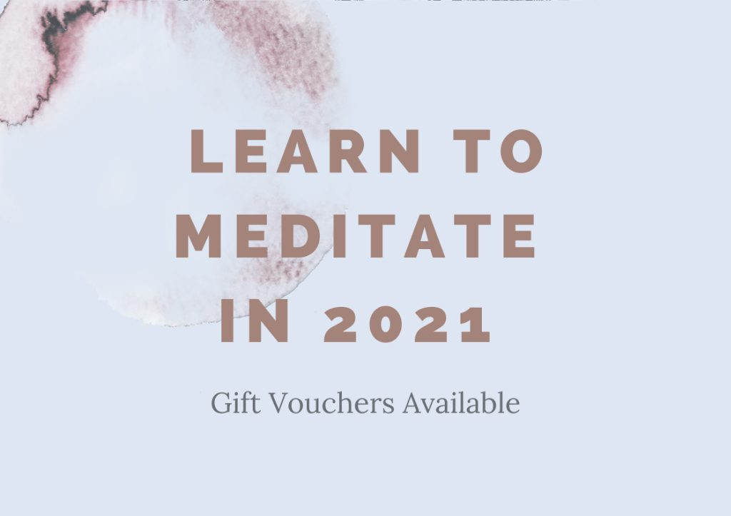 The Modern Meditator, Gift Vouchers Available, Learn to Meditate in 2021